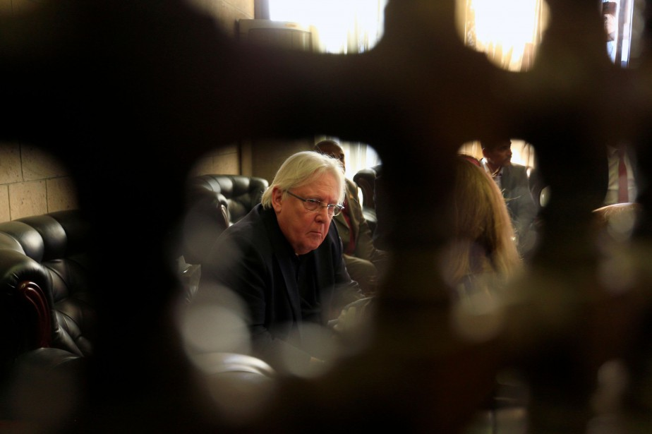 Martin Griffiths... (Photo MOHAMMED HUWAIS, Archives Agence France-Presse)