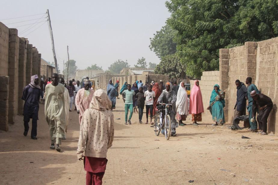 «Plus de 30000déplacés sont arrivés à Maiduguri ces... (Photo AUDU MARTE, Archives Agence France-Presse)
