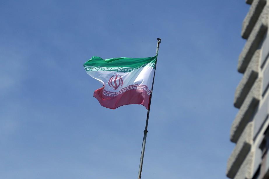 Le drapeau iranien.... (Photo Lisi Niesner, archives REUTERS)