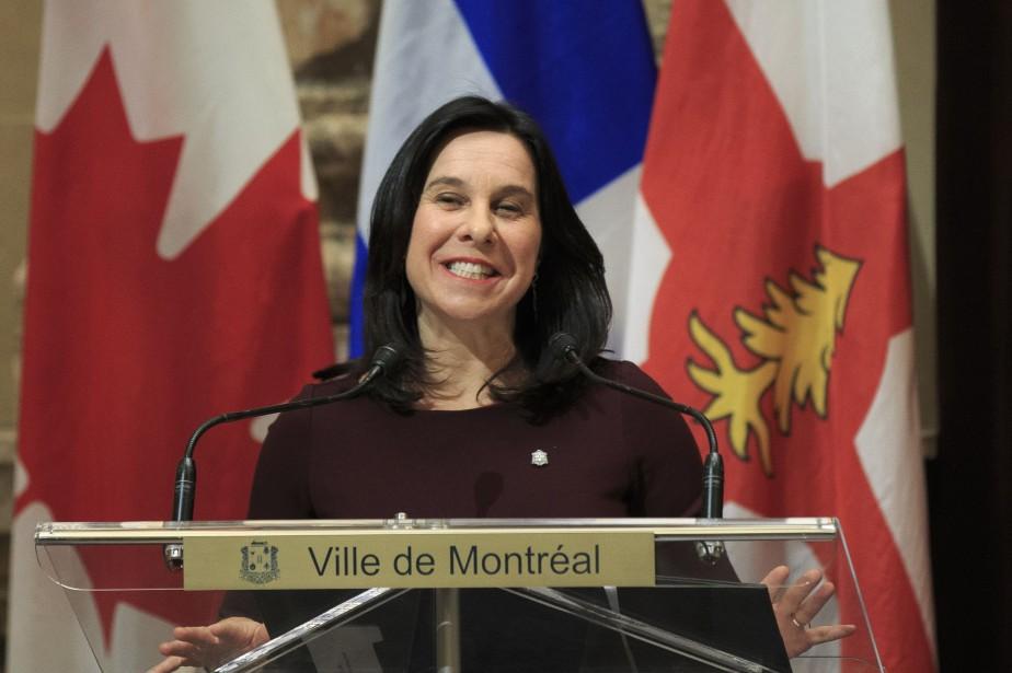 La mairesse de Montréal, Valérie Plante.... (Photo Olivier Pontbriand, archives La Presse)