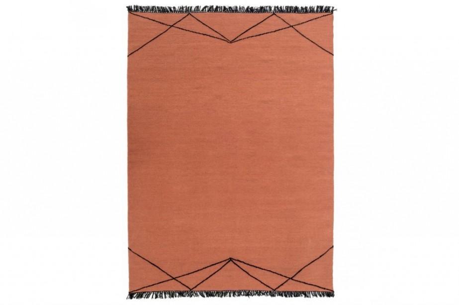 Doux, le tapis en tissu Sumac égaiera une chambre, un salon ou une salle à manger. 499 $ chez Mobilia. | 9 janvier 2019