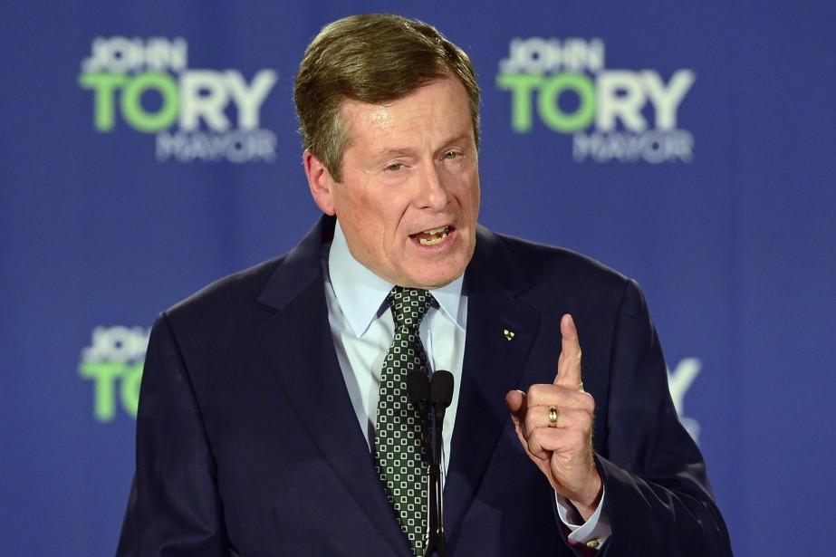 Le maire de Toronto, John Tory.... (PHOTO PC)