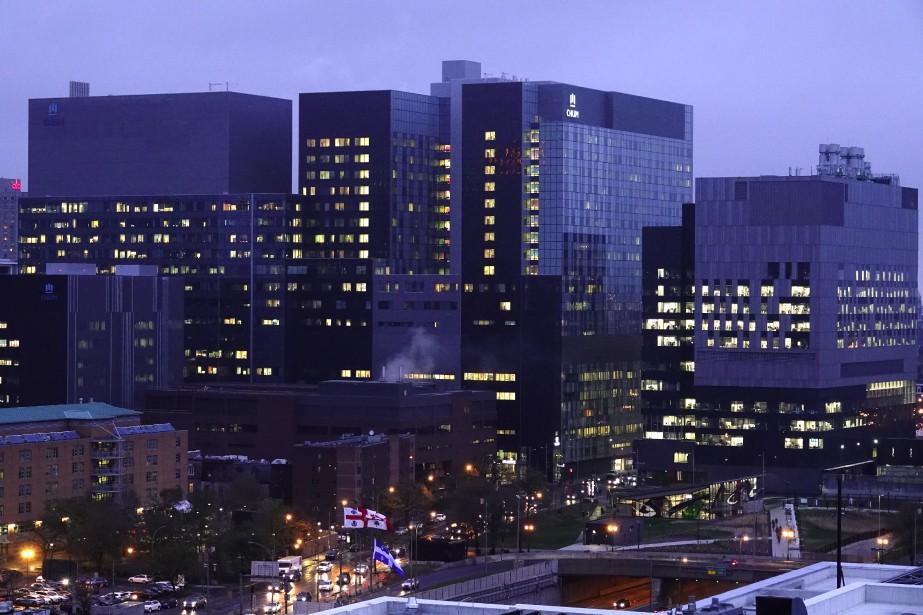 Le Centre hospitalier de l'Université de Montréal... (Photo Bernard Brault, archives La Presse)