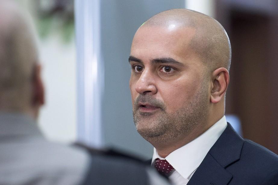 Le chauffeur de taxi Bassam Al-Rawi fait l'objet... (Photo Andrew Vaughan, la presse canadienne)