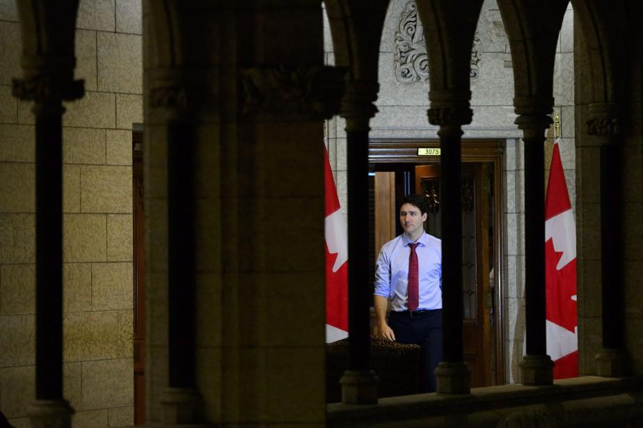 Le premier ministre, Justin Trudeau, au Parlement d'Ottawa... (Photo Sean Kilpatrick, archives la presse canadienne)