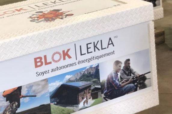 La génératrice solaire BLOK... (photo fournie parLekla)
