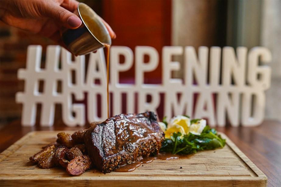 Le Happening Gourmand se déroulera du 10 janvier... (Photo fournie par Happening Gourmand)