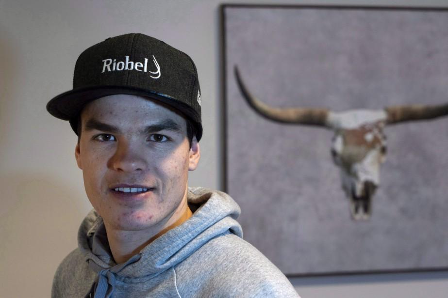 Le skieur Mikaël Kingsbury... (Photo PaulChiasson, La Presse canadienne)