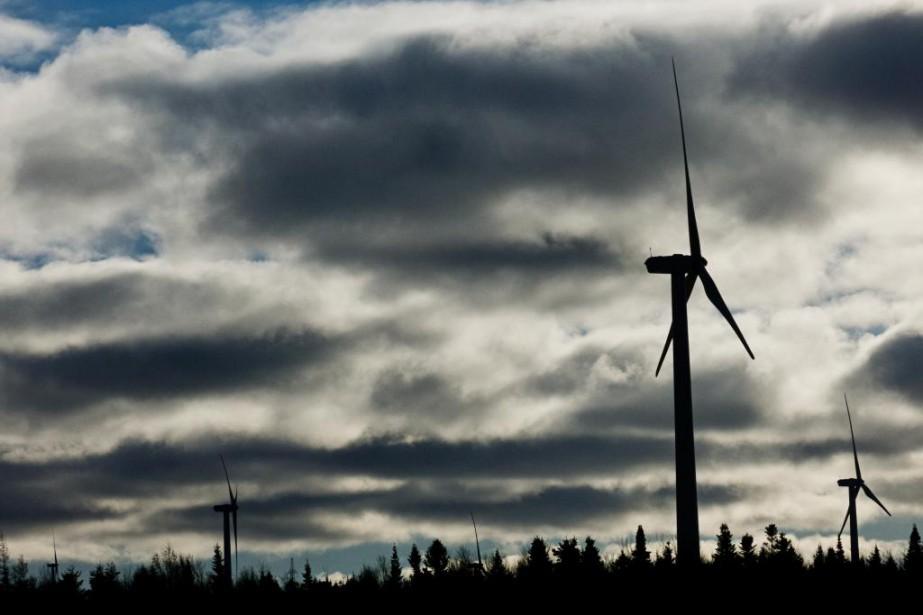 À Matane, Marmen, qui produit des éoliennes, est... (Photo Hugo-Sebastien Aubert, archives La Presse)