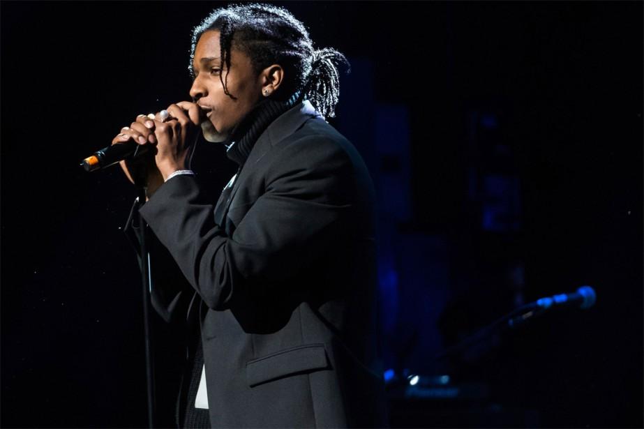 A$AP Rocky se produira à la Place Bell,... (Photo Charles Sykes, Archives Associated Press)