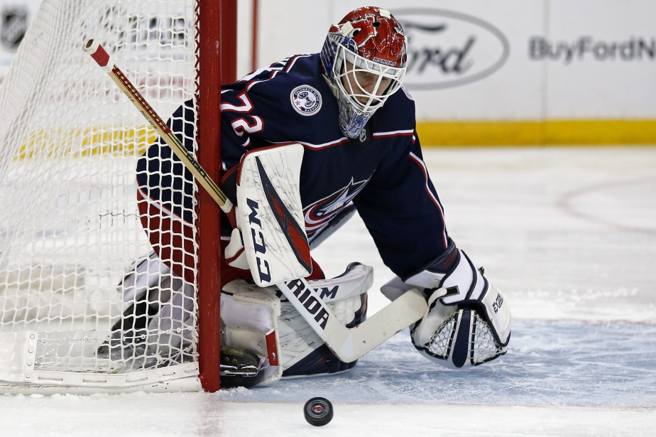 Sergei Bobrovsky a été retiré du match de... (Photo Adam Hunger, Associated Press)
