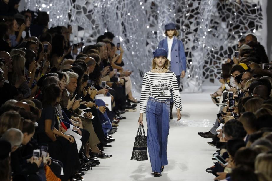 Un défilé Dior présenté en septembre 2017.... (Photo FRANCOIS GUILLOT, archives AFP)
