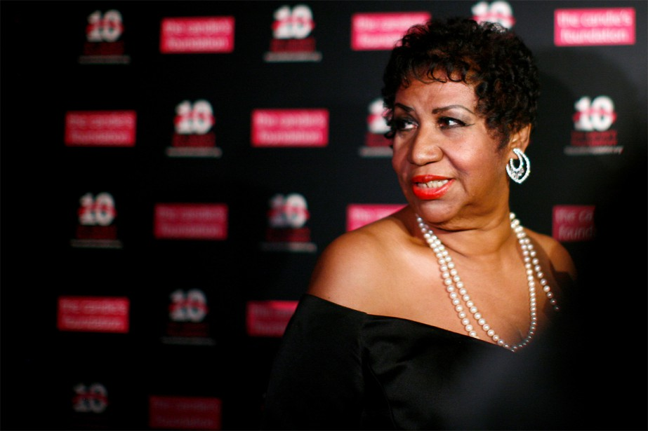 Un film biographique sur Aretha Franklin est en... (Photo Eric Thayer, archives Reuters)