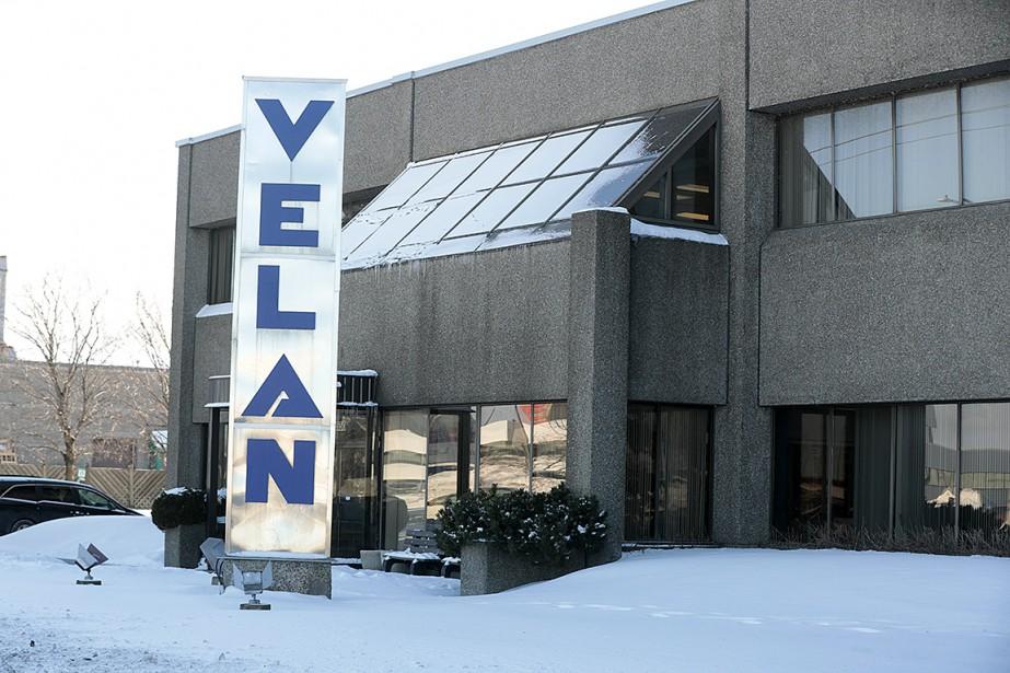 Le siège social de l'entreprise à Montréal... (Photo Martin Chamberland, La Presse)