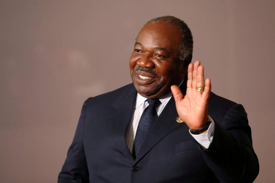 Le président Ali Bongo.... (Photo Mike Hutchings, archives REUTERS)