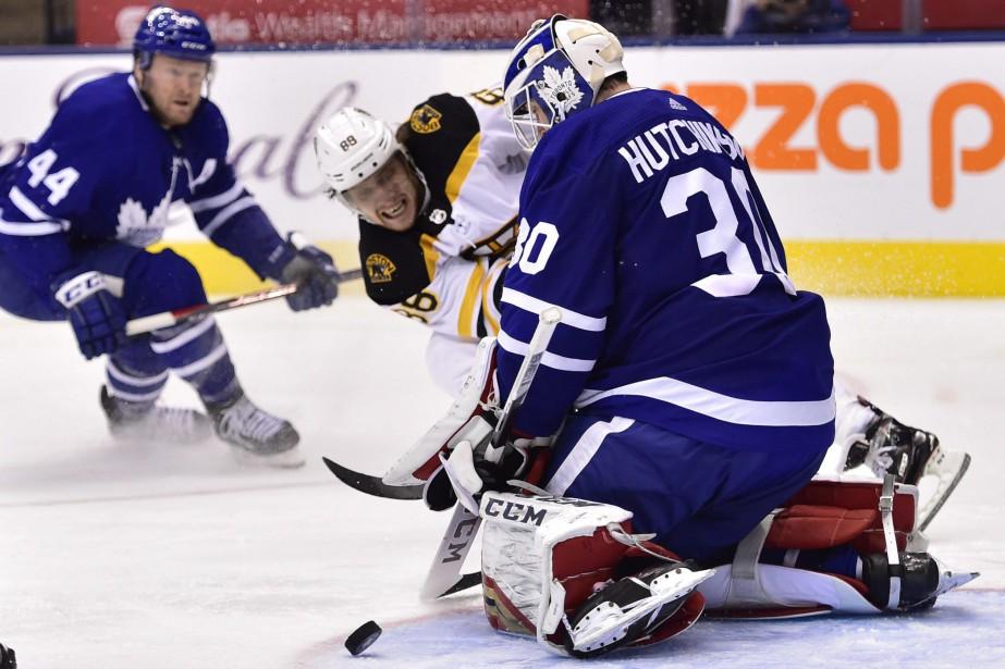 Le Tchèque a inscrit le but vainqueur des... (Photo Frank Gunn, La Presse canadienne)
