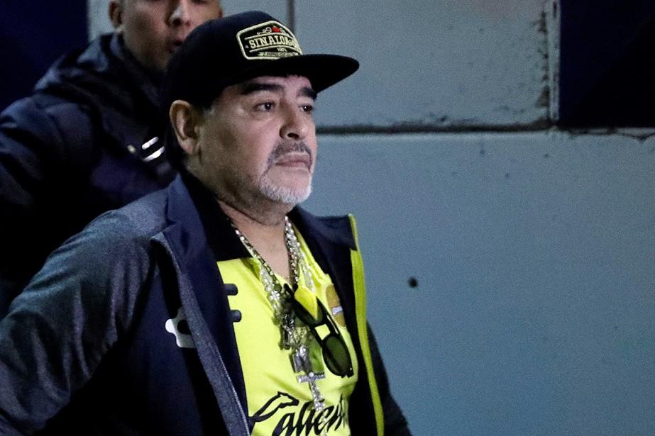 Diego Maradona avait été opéré dans la nuit... (Photo Henry Romero, archives REUTERS)
