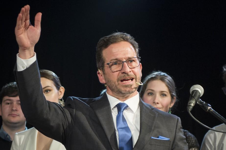 L'ancien ministre péquiste Yves-Francois Blanchet lors du lancement... (Photo Catherine Lefebvre, COLLABORATION SPÉCIALE, archives la presse)