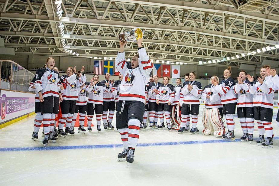 Le Canada a remporté la cinquième médaille d'or... (PHOTO TIRÉE DU COMPTE TWITTER @NC_WOMEN)