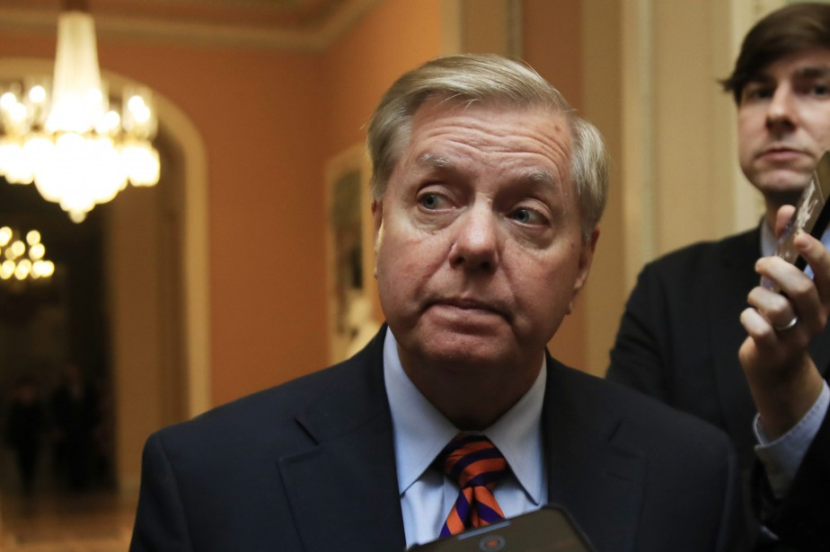 Lindsey Graham... (PHOTO AP)