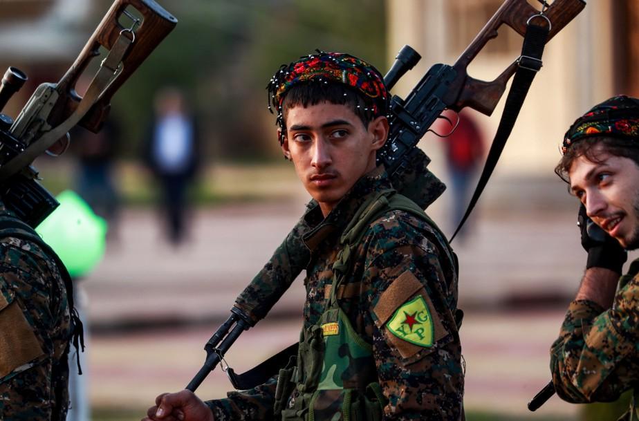 L'annonce du retrait des militaires américains déployés en... (PHOTO AFP)