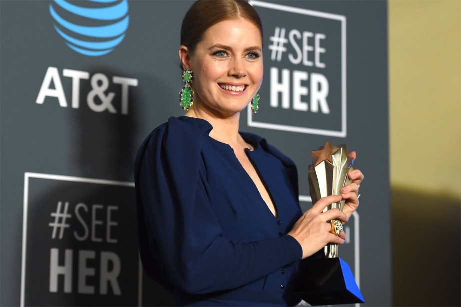 Amy Adams... (photo Jordan Strauss, associated press)