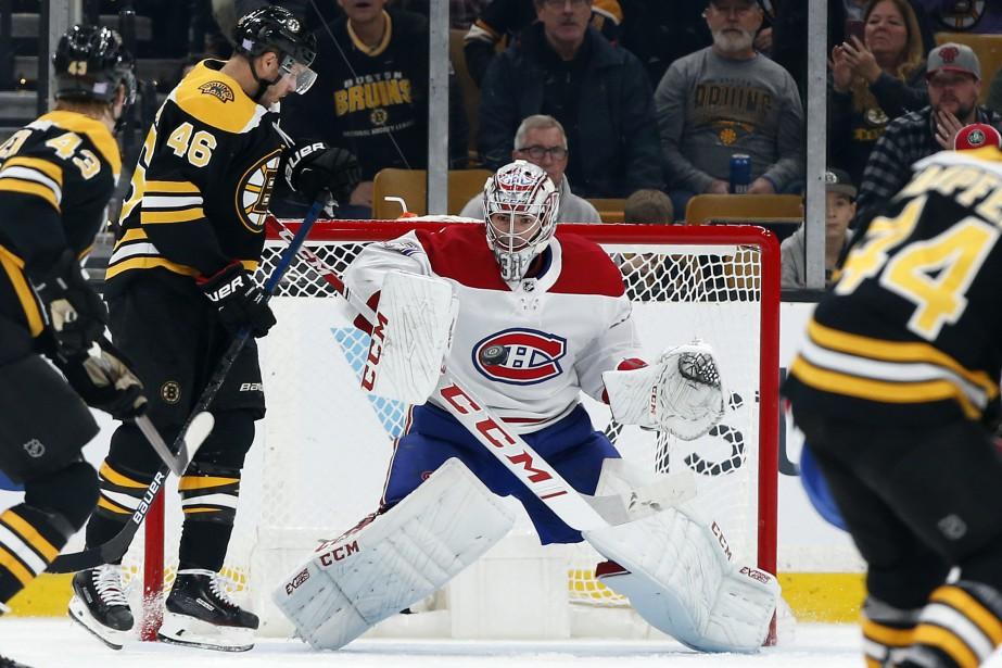 Carey Price affrontera les Bruins de Boston ce... (Photo Winslow Townson, archives Associated Press)