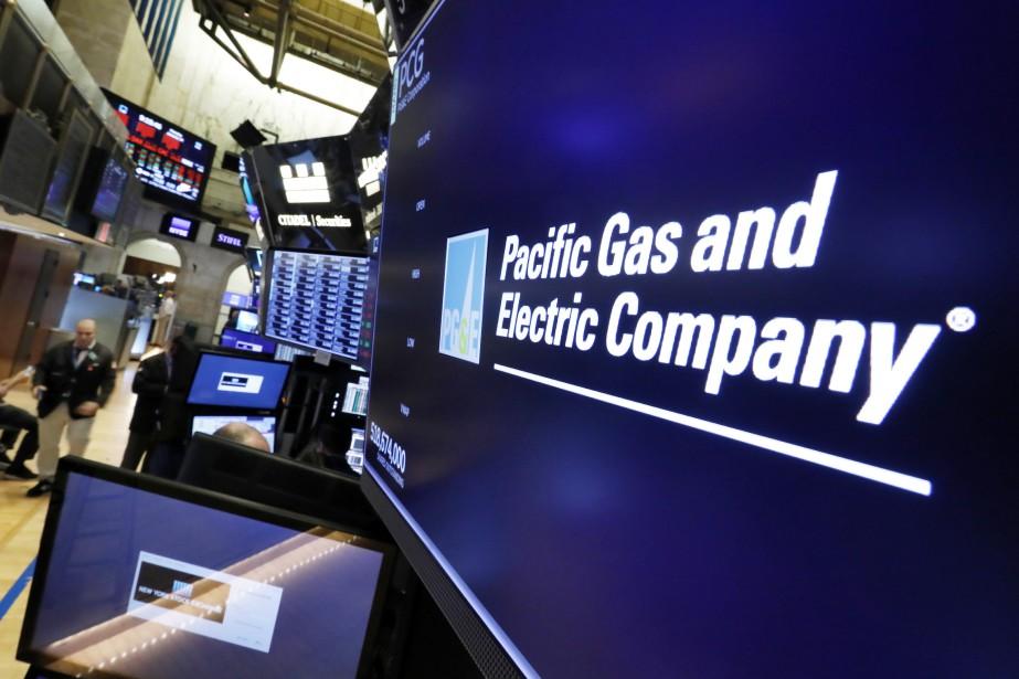 Son cours de Bourse a chuté de près... (Photo Richard Drew, Associated Press)