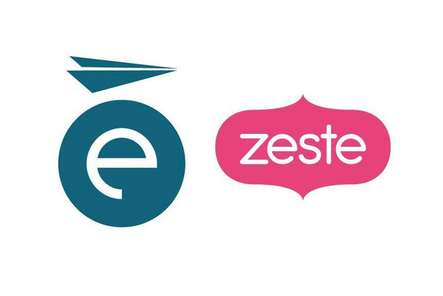 Les logos des chaînes Évasion et Zeste....
