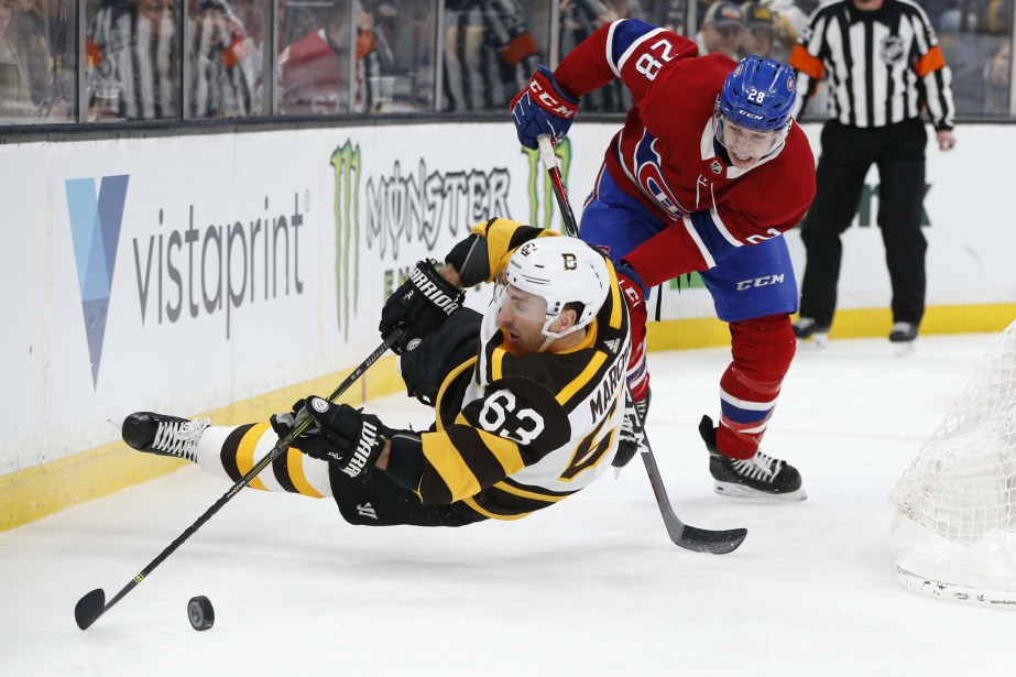 Relisez la couverture du match opposant le Canadien aux Bruins... (PHOTO REUTERS)