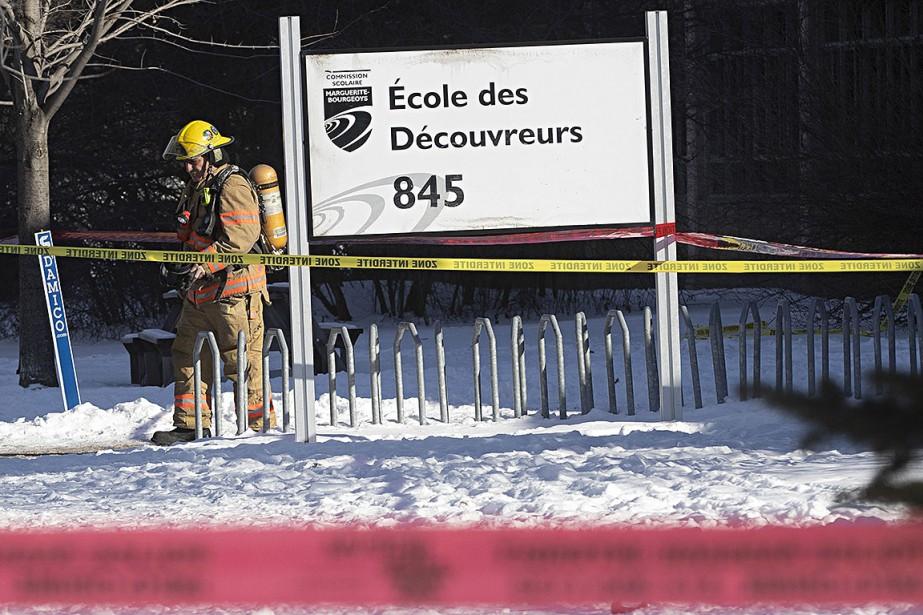 Les personnes secourues hier vomissaient et souffraient d'étourdissements.... (Photo PATRICKSANFAÇON, La Presse)
