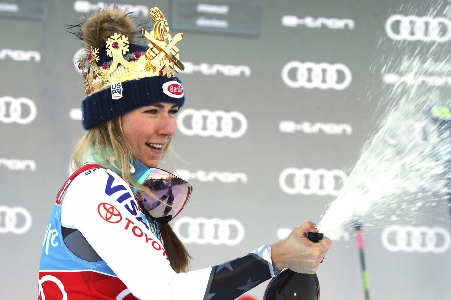 Mikaela Shiffrin... (Photo Marco Trovati, Associated Press)