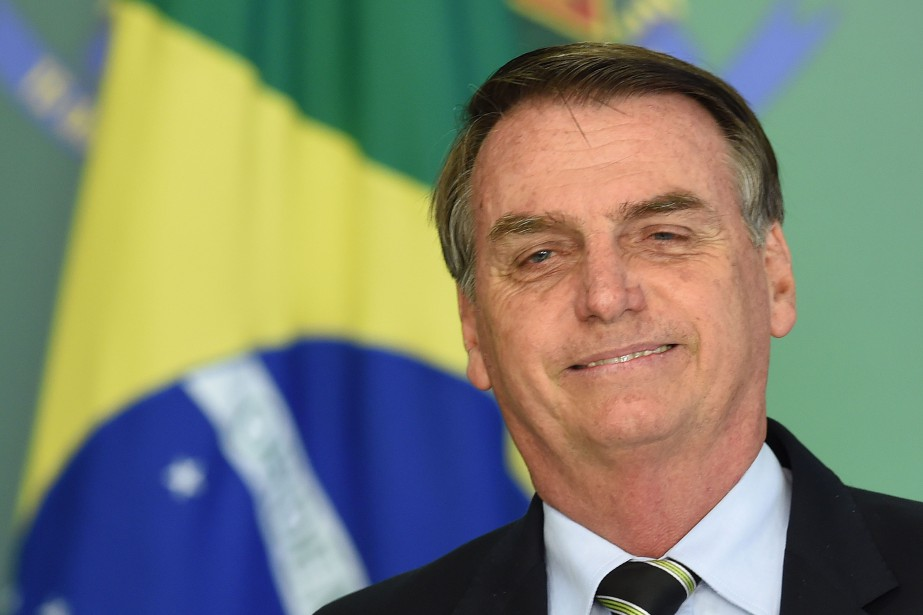 Ex-capitaine de l'armée, Jair Bolsonaro, 63 ans, a... (Photo EVARISTO SA, Agence France-Presse)