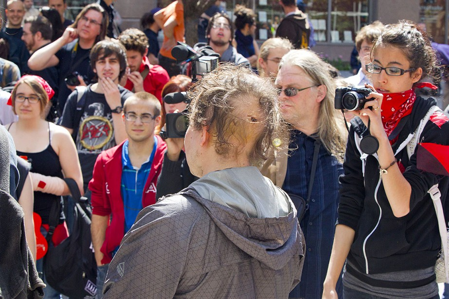 Sur cette photo de mai 2012 est photographié... (Photo Alain Roberge, archives La Presse)