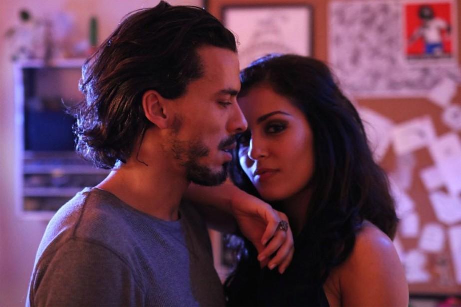Tewfik Jallab et Hiba Abouk... (PHOTO FOURNIE PAR LES FILMS SÉVILLE)