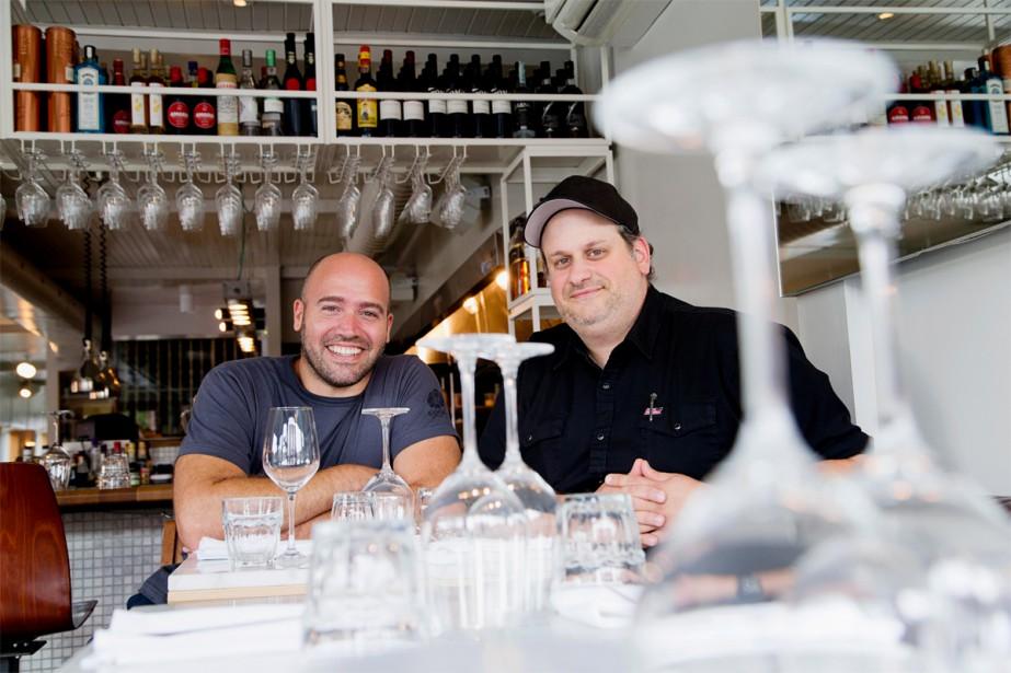 Stefano Faita et Michele Forgione ont un nouveau... (PHOTO ALAIN ROBERGE, LA PRESSE)