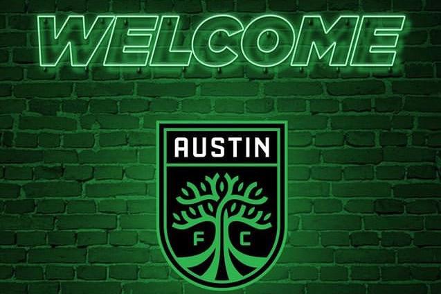 Le logo de la nouvelle franchise de la... (Capture d'écran tirée de Twitter (@AustinFC))