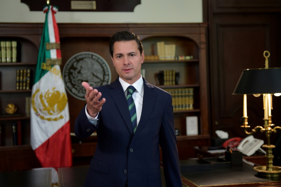Enrique Pena Nieto... (PHOTO REUTERS)
