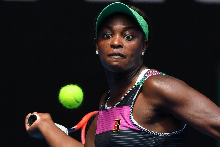 Sloane Stephens... (PHOTO AFP)
