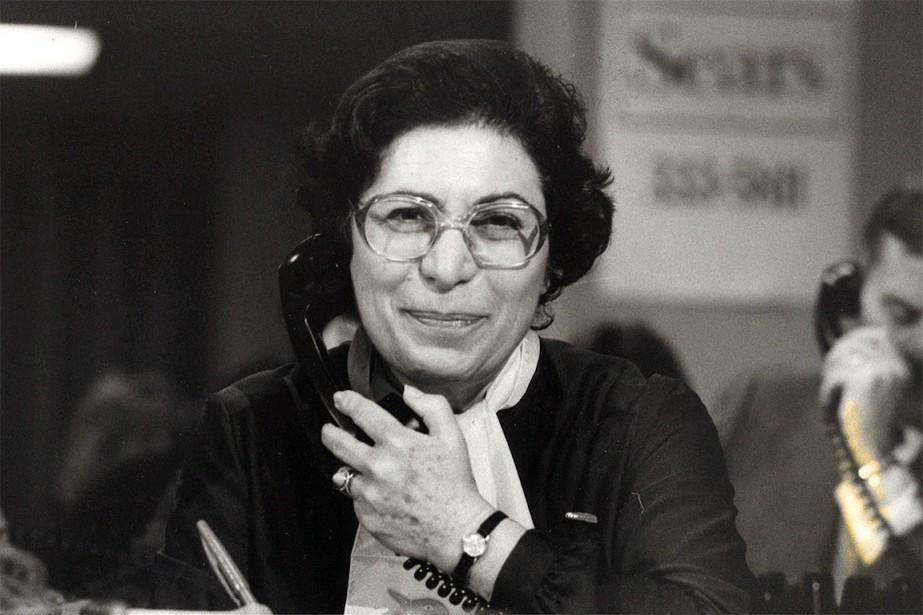 Lily Tasso en 1984.... (Photo Armand Trottier, archives La Presse)