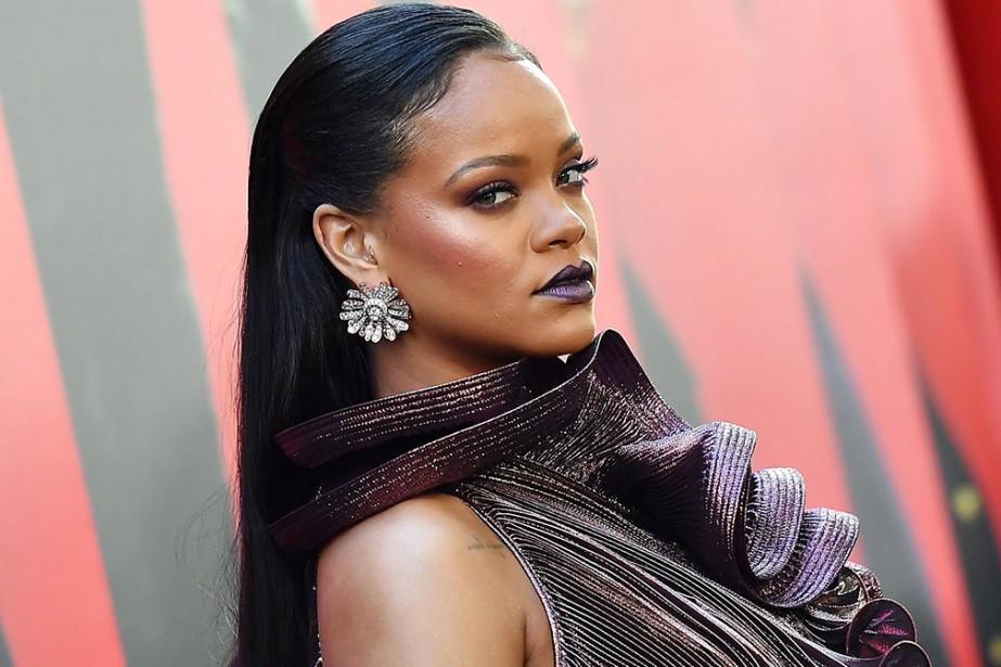 PHOTO ANGELA WEISS, ARCHIVES AGENCE FRANCE-PRESSE... (Rihanna)