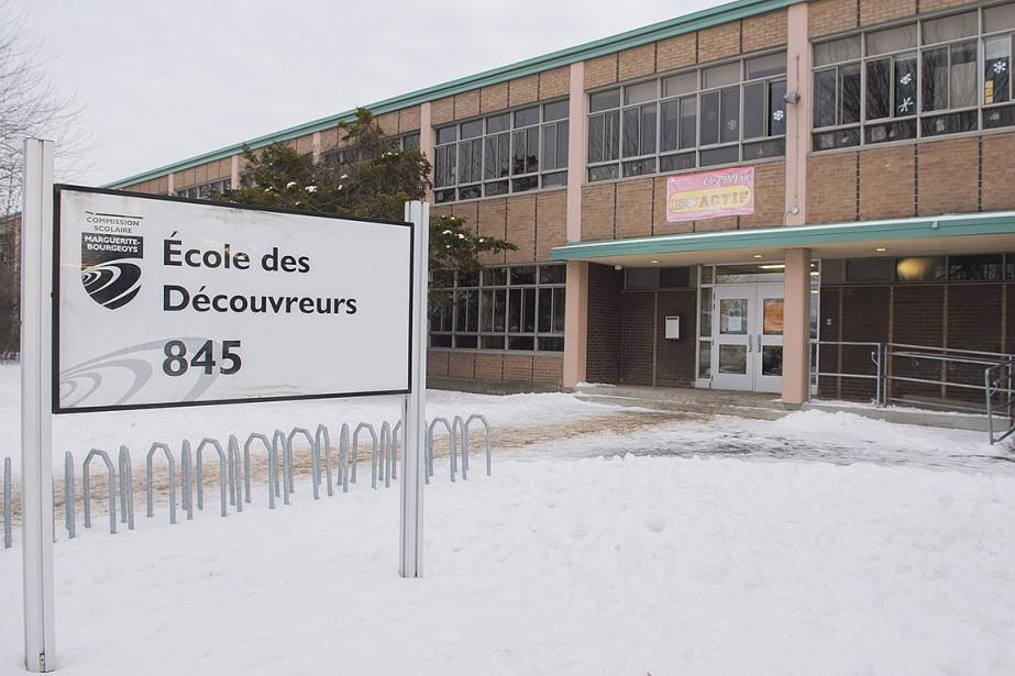 L'école des Découvreurs compte quelque 275élèves répartis dans... (Photo Graham Hughes, archives PC)