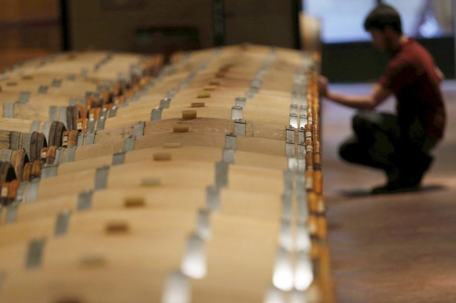 Les exportateurs de vins et spiritueux français «regrettent»... (Photo REGIS DUVIGNAU, archives REUTERS)