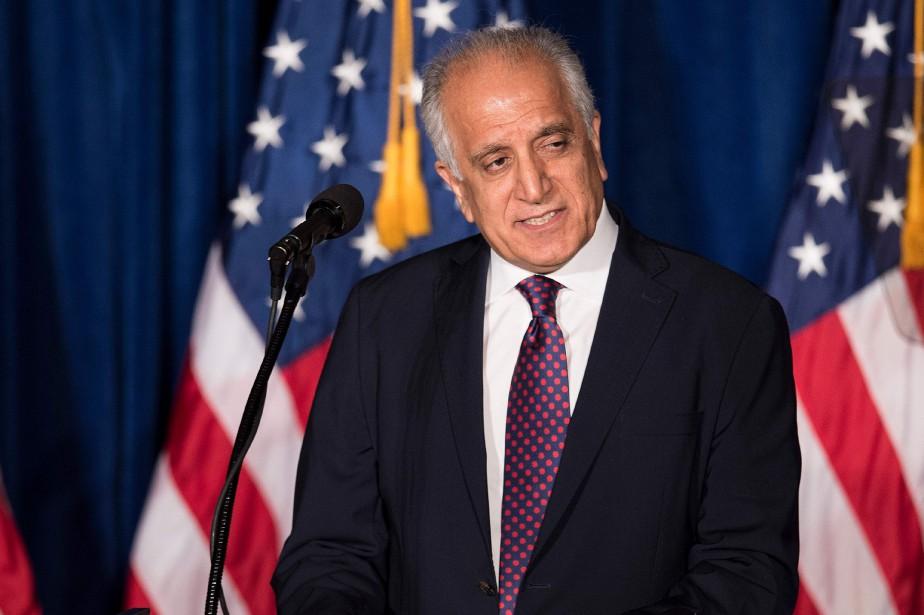 L'émissaire américain pour la paix en Afghanistan Zalmay... (Photo BRENDAN SMIALOWSKI, archives Agence France-Presse)