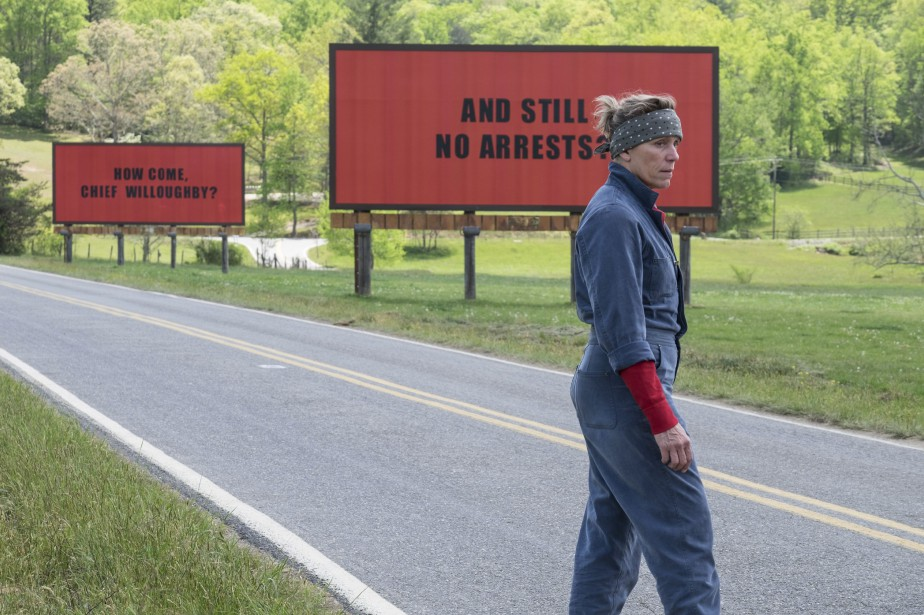Frances McDormand dans Three Billboards Outside Ebbing, Missouri... (Photo fournie par Fox Searchlight)