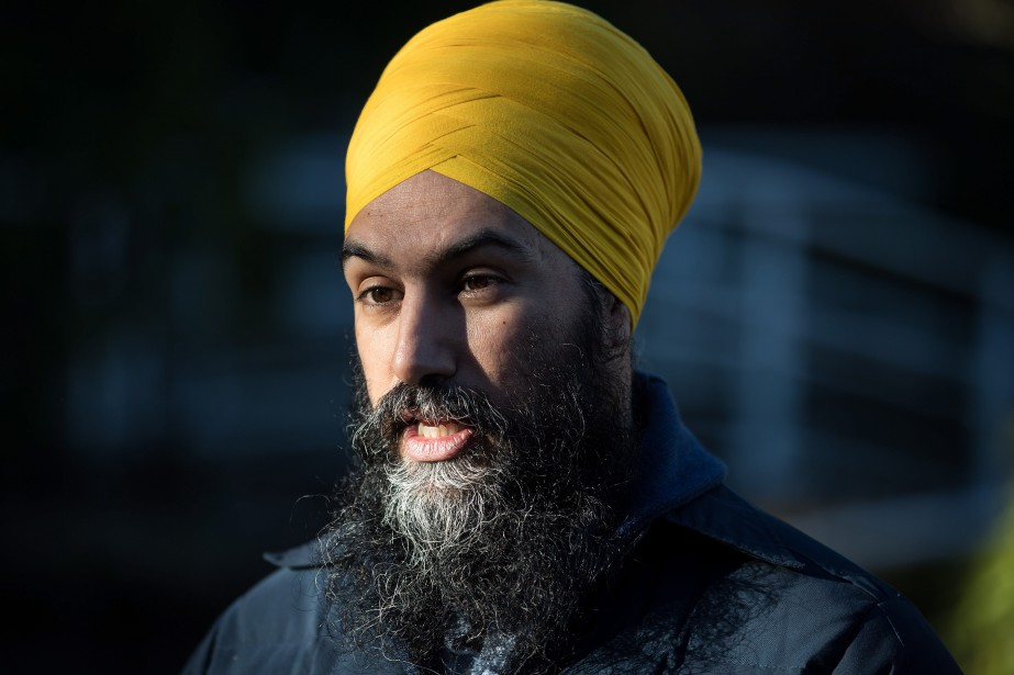 Le chef du NPD, Jagmeet Singh.... (Photo DARRYL DYCK, La Presse canadienne)