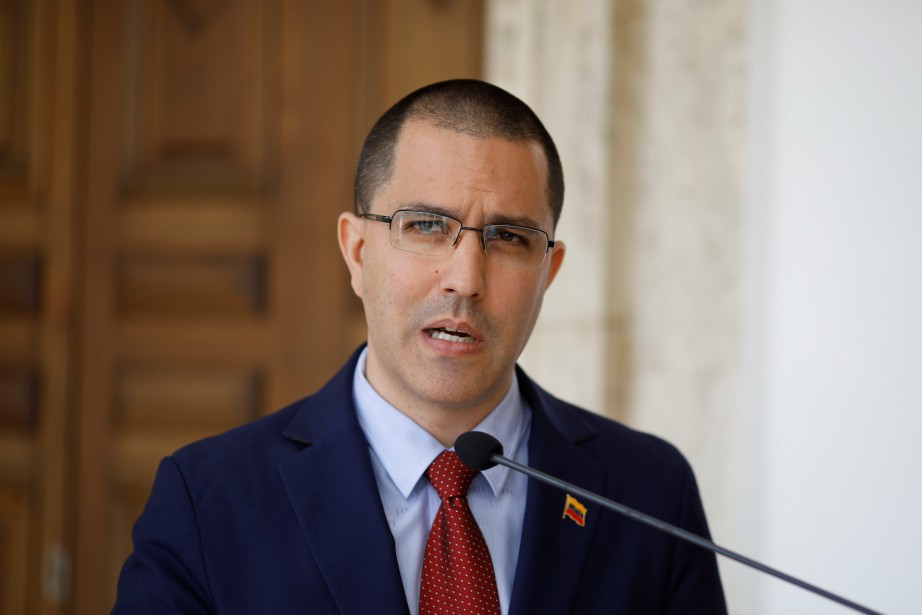 Jorge Arreaza... (Photo CARLOS GARCIA RAWLINS, archives REUTERS)