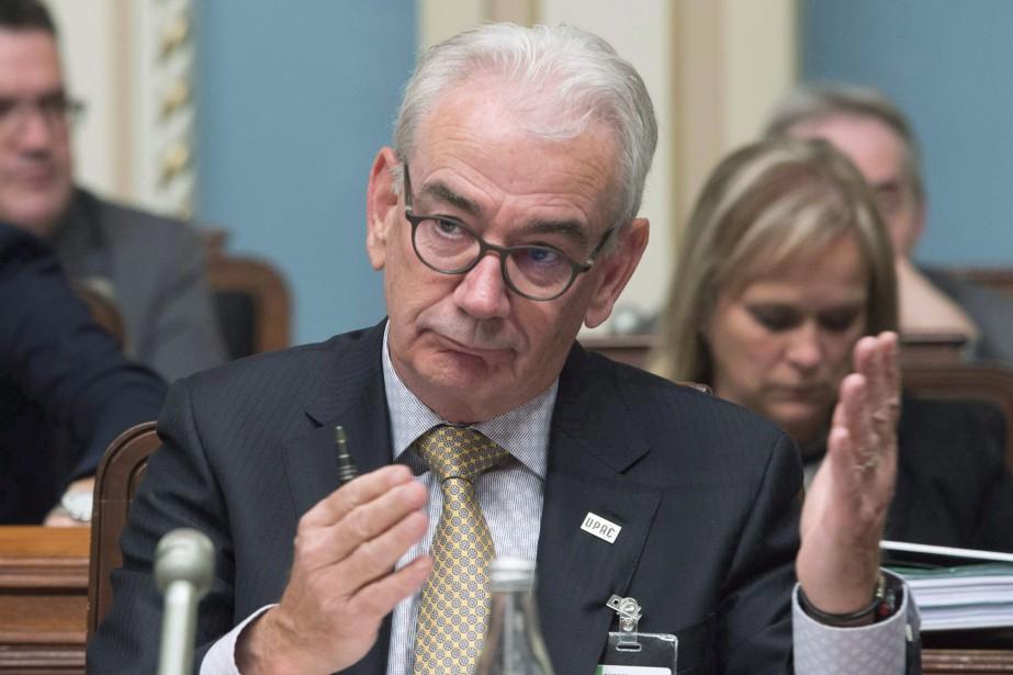 L'ex-patron de l'Unité permanente anticorruption (UPAC), Robert Lafrenière.... (Photo Jacques Boissinot, archives La Presse canadienne)