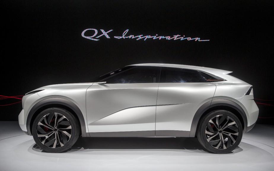 Le QX Inspiration est un précurseur des prochains véhicules électriques qu'Infinti s'apprête à lancer. | 16 janvier 2019