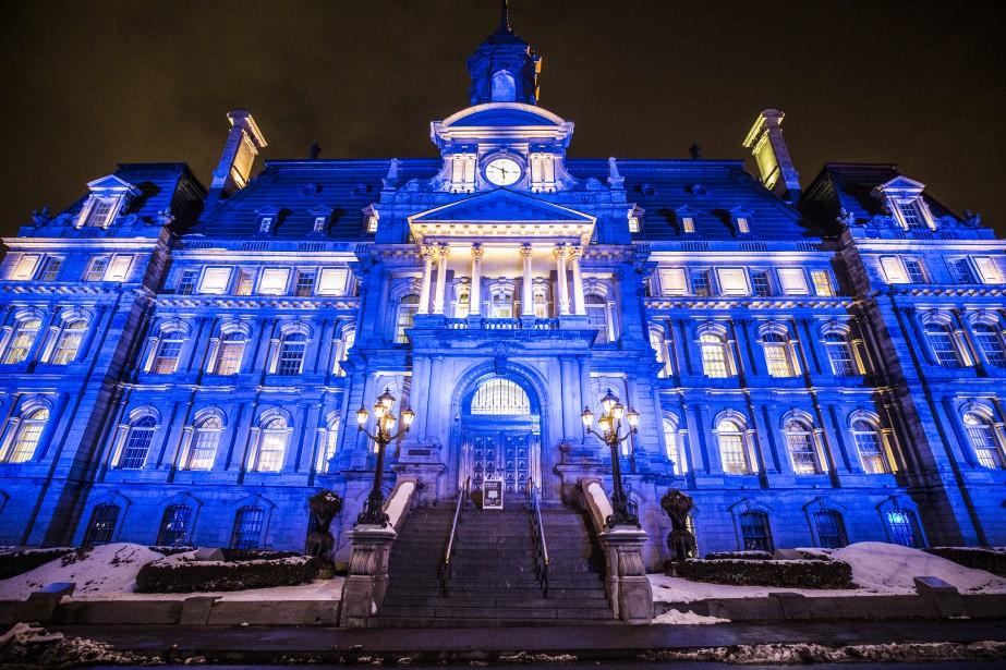Hôtel de ville de Montréal... (PHOTO OLIVIER PONTBRIAND, archives La Presse)
